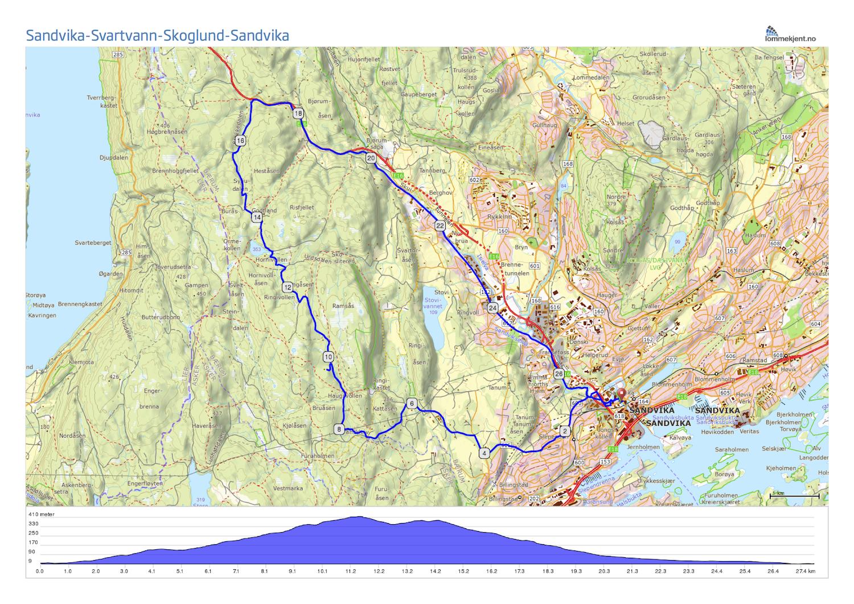 kart over vestmarka Litt krevende rundtur i Vestmarka kart over vestmarka