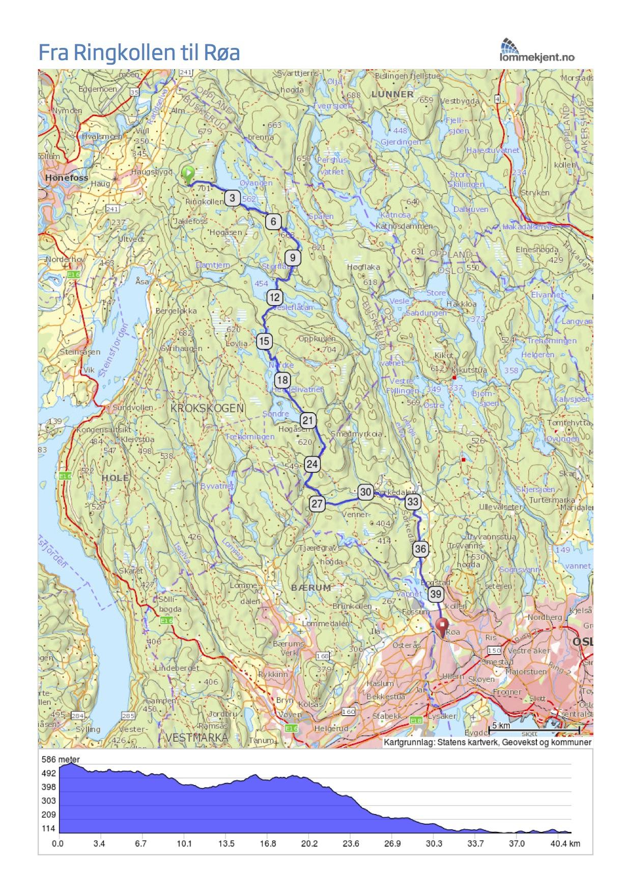 trollsykling kart SykkelStien.info trollsykling kart